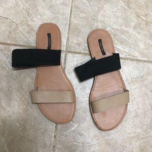 Forever 21 flat sandals